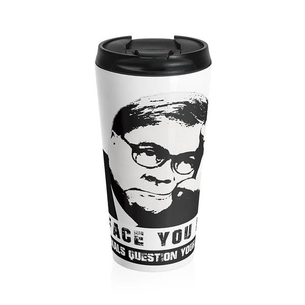 William (Bill) Barr Stainless Steel Travel Mug
