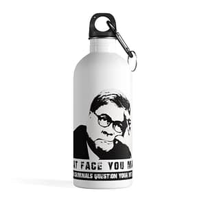 William (Bill) Barr Stainless Steel Water Bottle